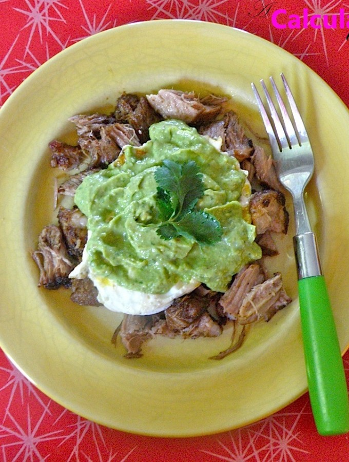 Carnitas con huevo (Paleo, Whole30)