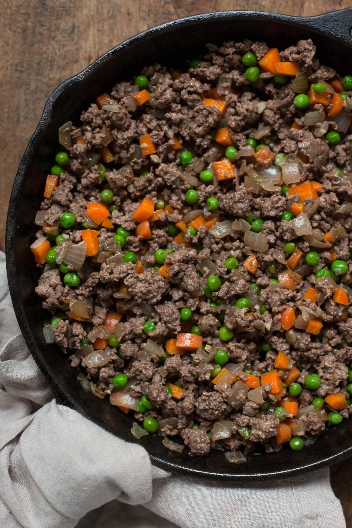 Shepherd's Pie with Rutabaga (Gluten free, Paleo, Whole30)