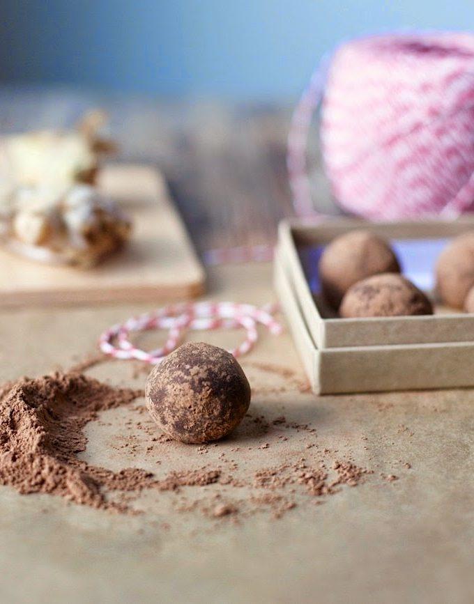 Choco-Ginger Truffles