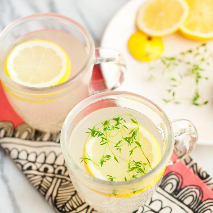 Ginger Thyme Tea