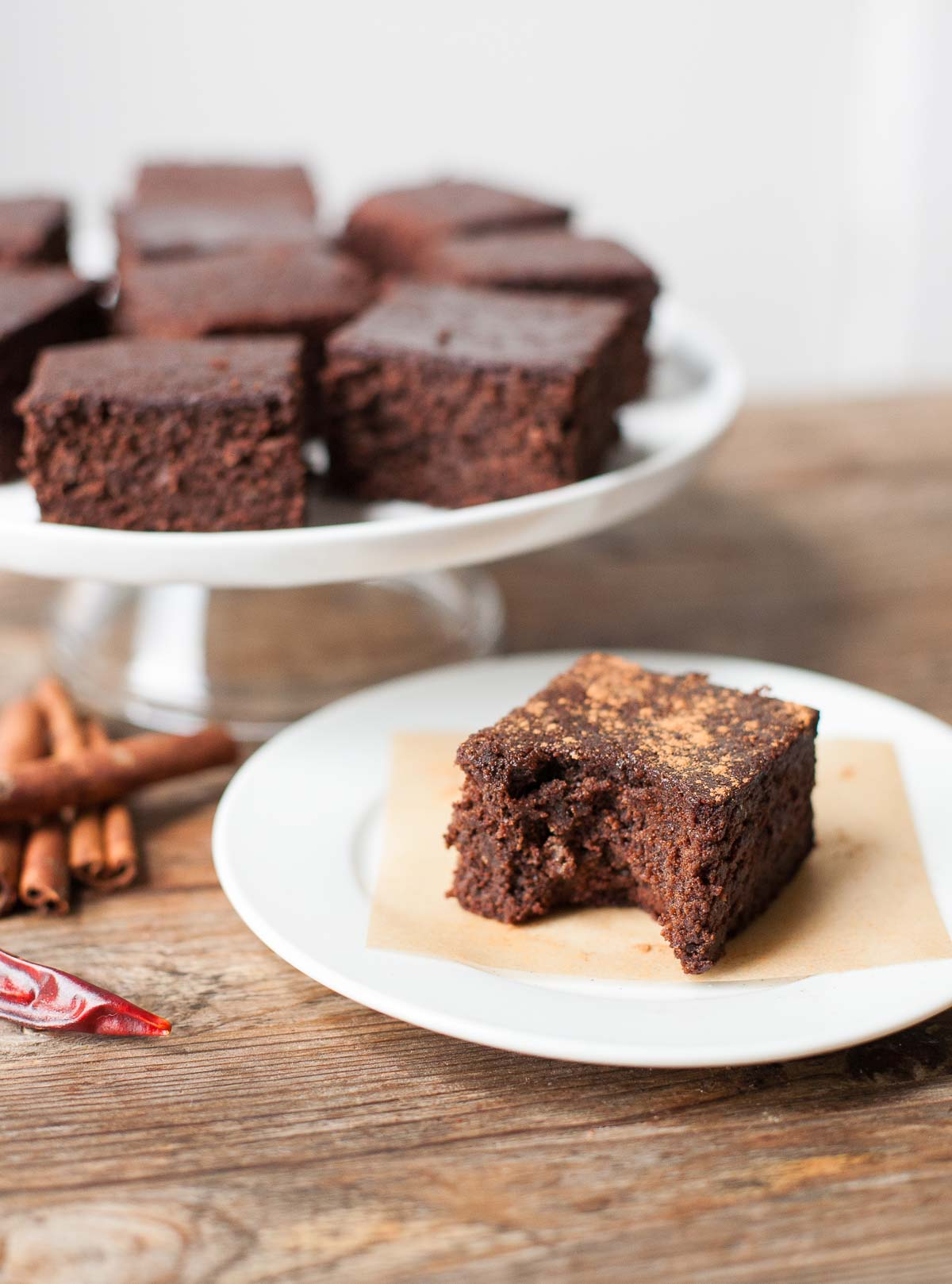 Almond Pulp Chocolate Brownies