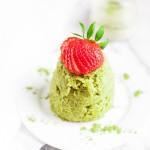 Matcha Mug Cake (Gluten free, Paleo)