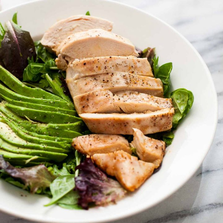 Easy Baked Chicken with Sherry Vinaigrette