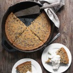 Brown Butter Cacao Nib Skillet Cake (Gluten free, Grain free)