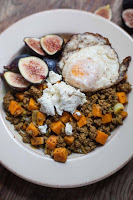Spiced Beef and Sweet Potato Bowls with Crispy Eggs