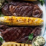 Ribeye Steak with Chimichurri Butter