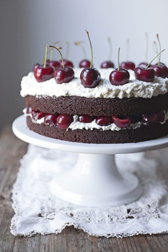 Black Forest Cake from Paleo Planet