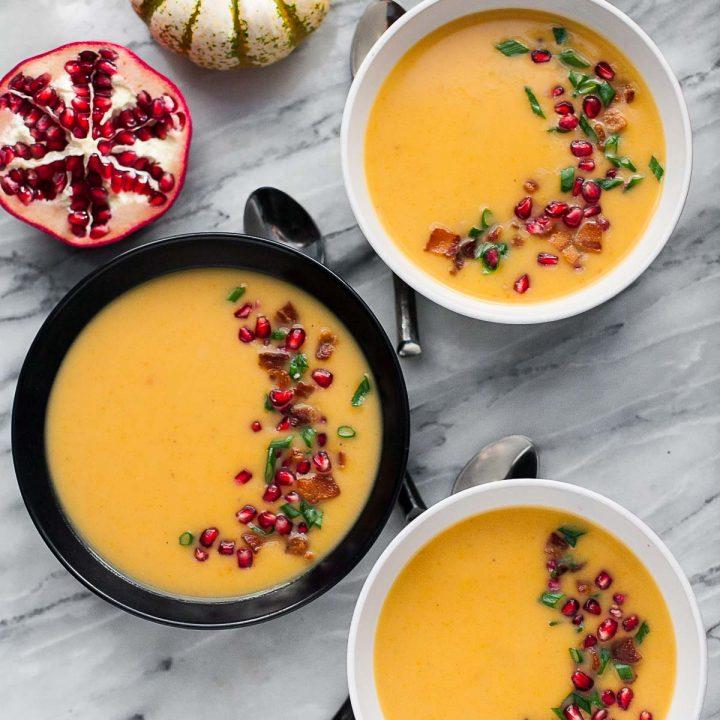 Butternut Squash and Potato Soup