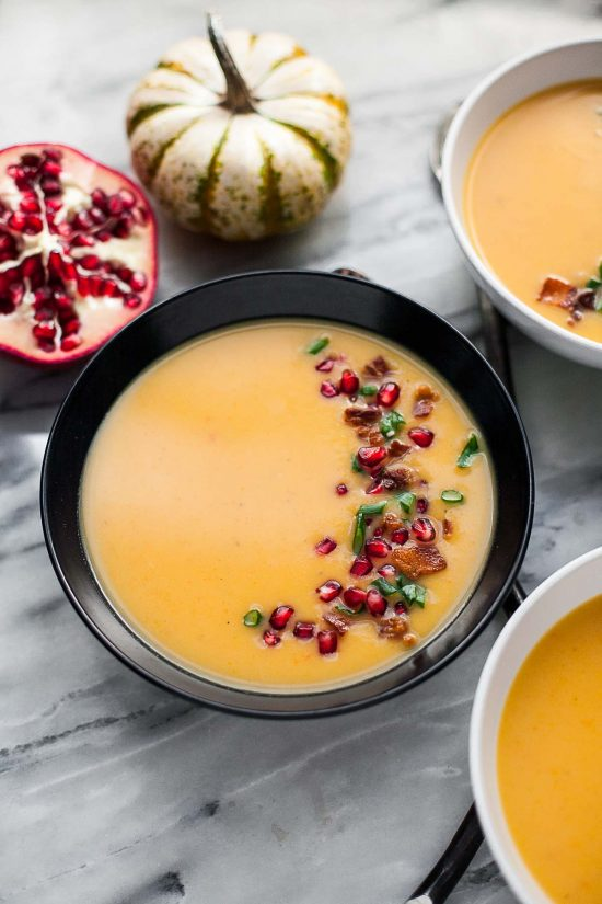 Butternut Squash and Potato Soup