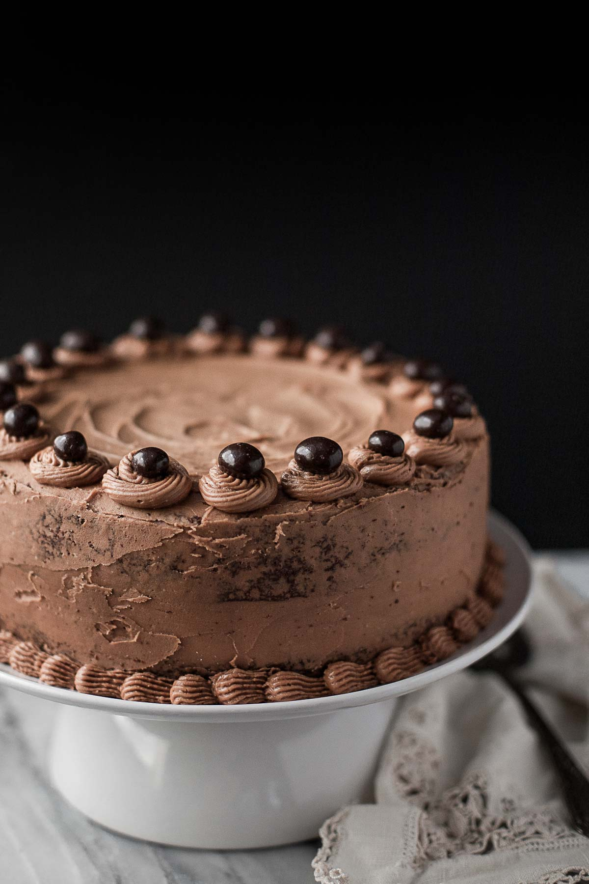 Grain-free Chocolate Cake with Mocha Buttercream - A ...