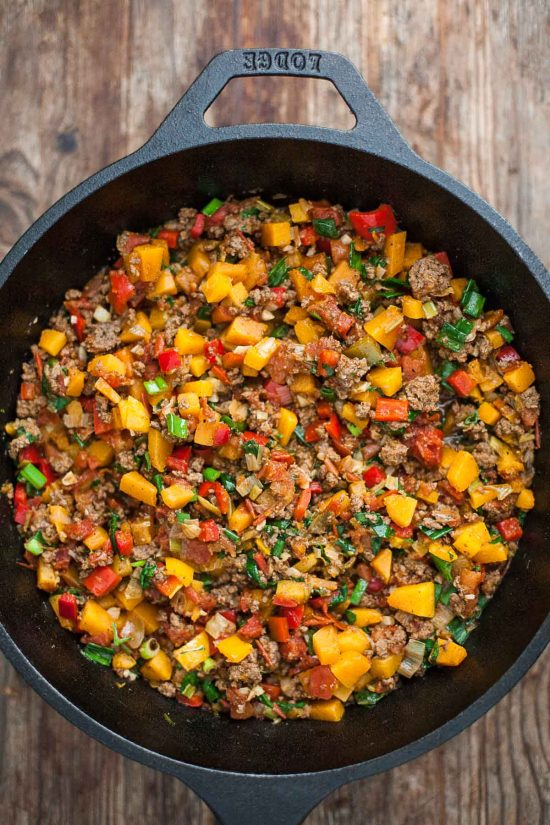 Deep Dish Paleo Tamale Pie