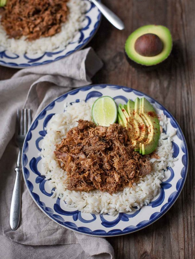 Five-Ingredient Instant Pot Carnitas (Paleo)