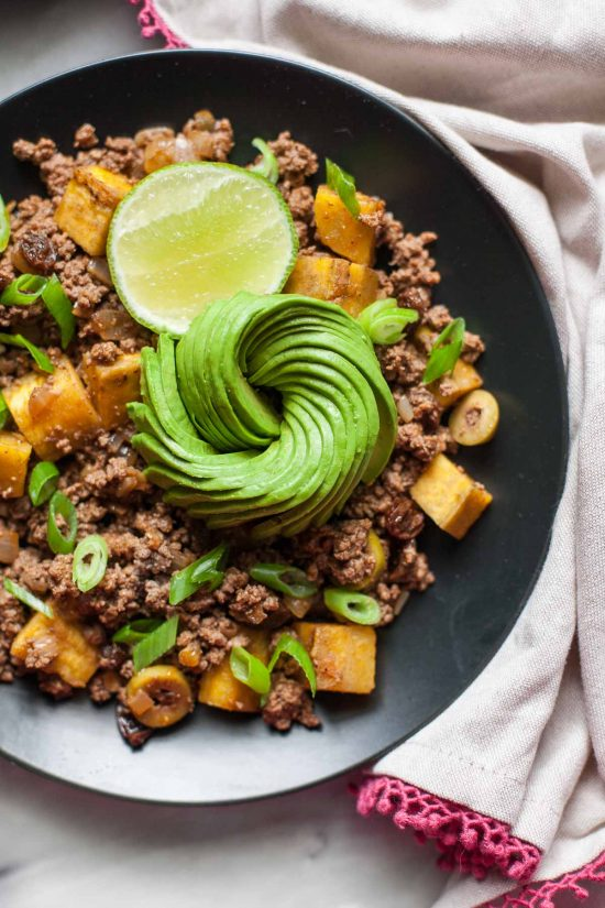 Top 16 Paleo Recipes of 2016: Picadillo with Plantains