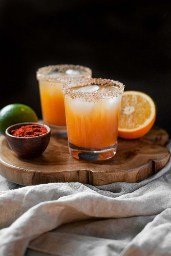 Smoky Maple Margaritas