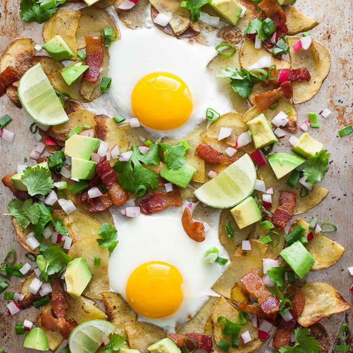Whole30 Breakfast Nachos (Gluten free, Dairy free, Paleo)