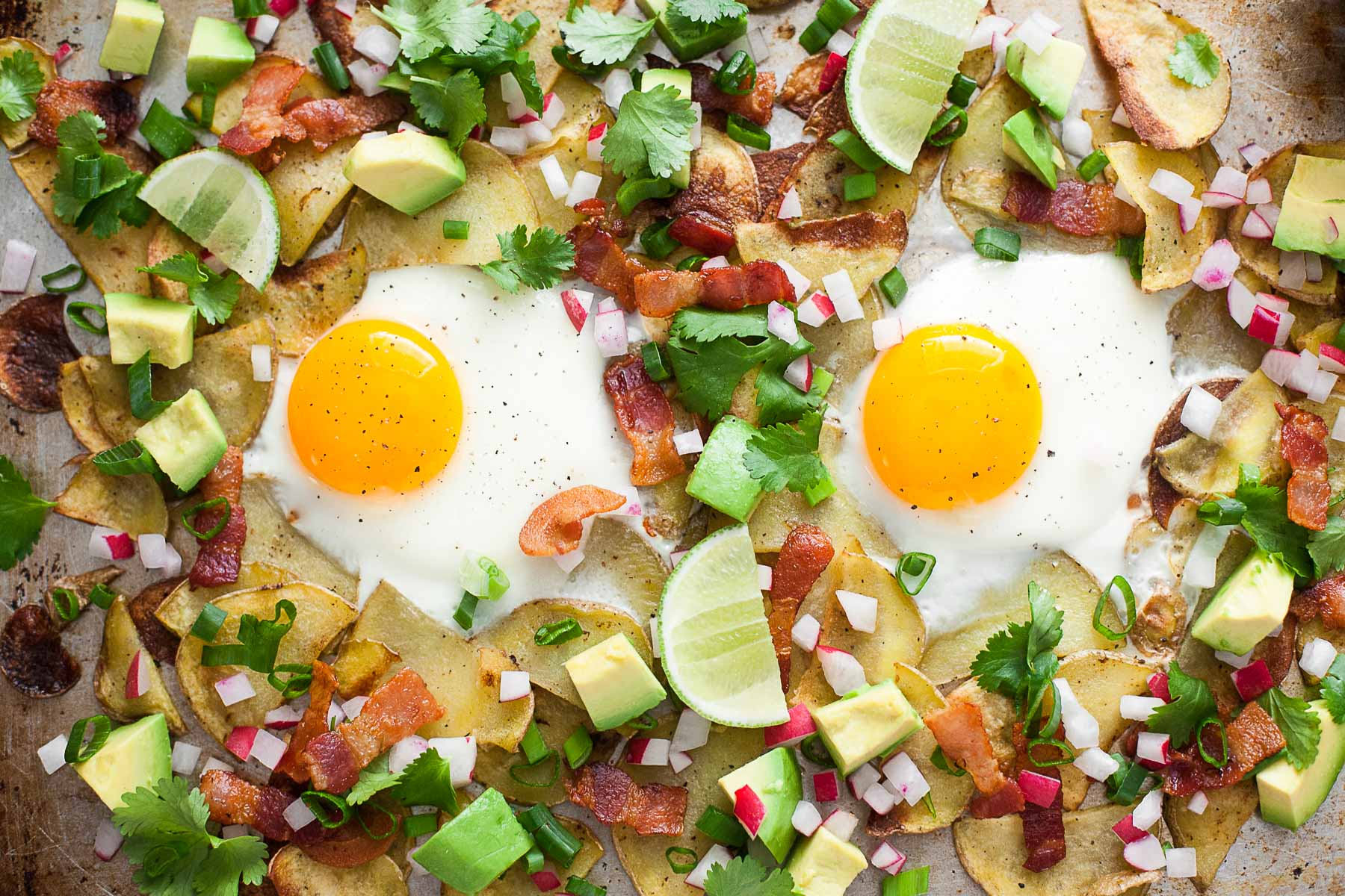 Whole30 Breakfast Nachos (Gluten free, Dairy free, Paleo)