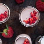 Strawberry Panna Cotta with Balsamic Vinegar