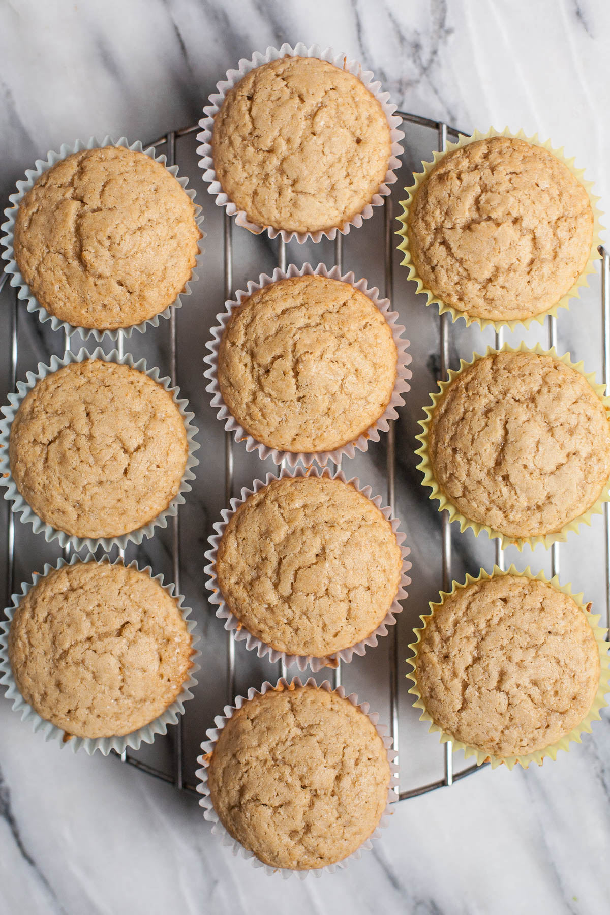 Easy Gluten-free Vanilla Cupcakes | acalculatedwhisk.com