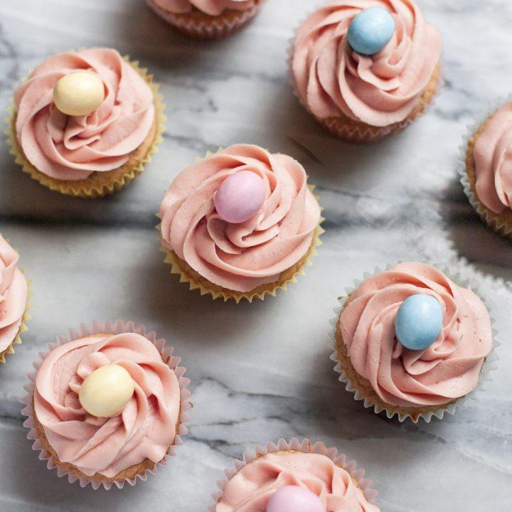 Easy Gluten-free Vanilla Cupcakes
