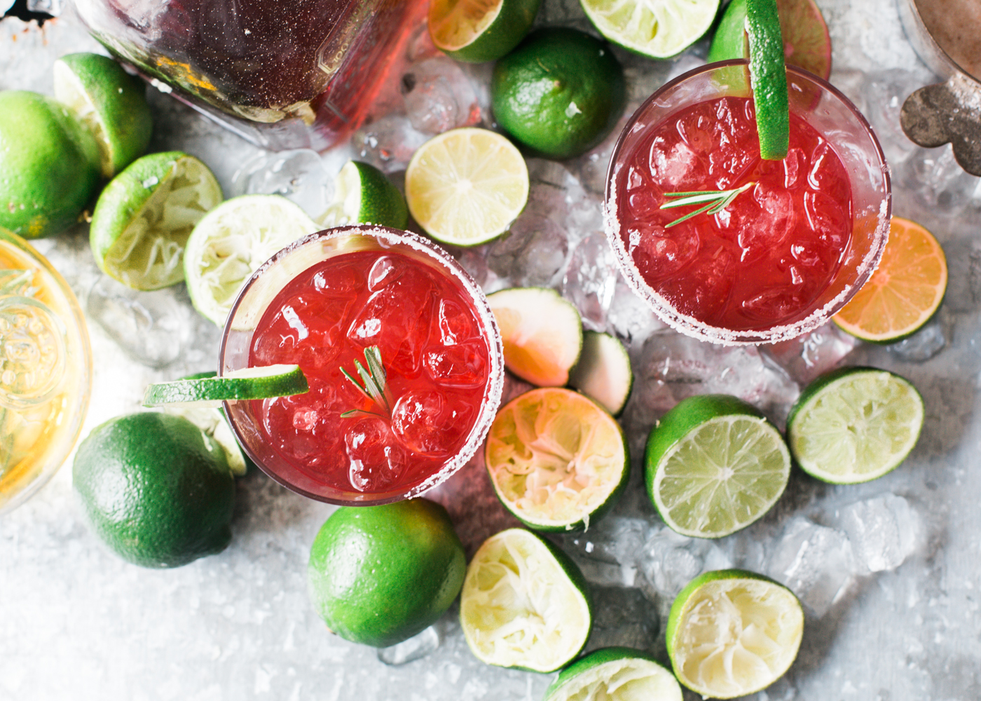 Beet-Infused Margaritas