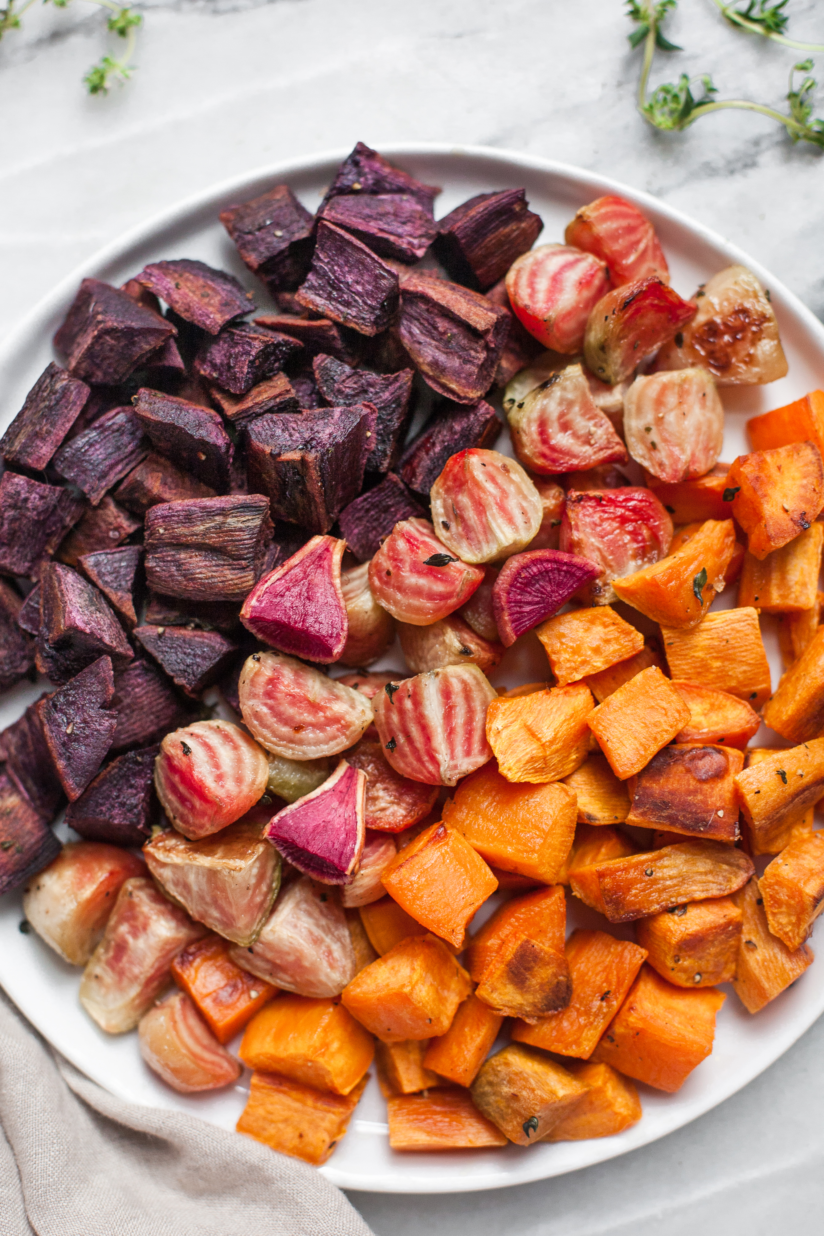 Roasted Beets Sweet Potatoes A Calculated Whisk
