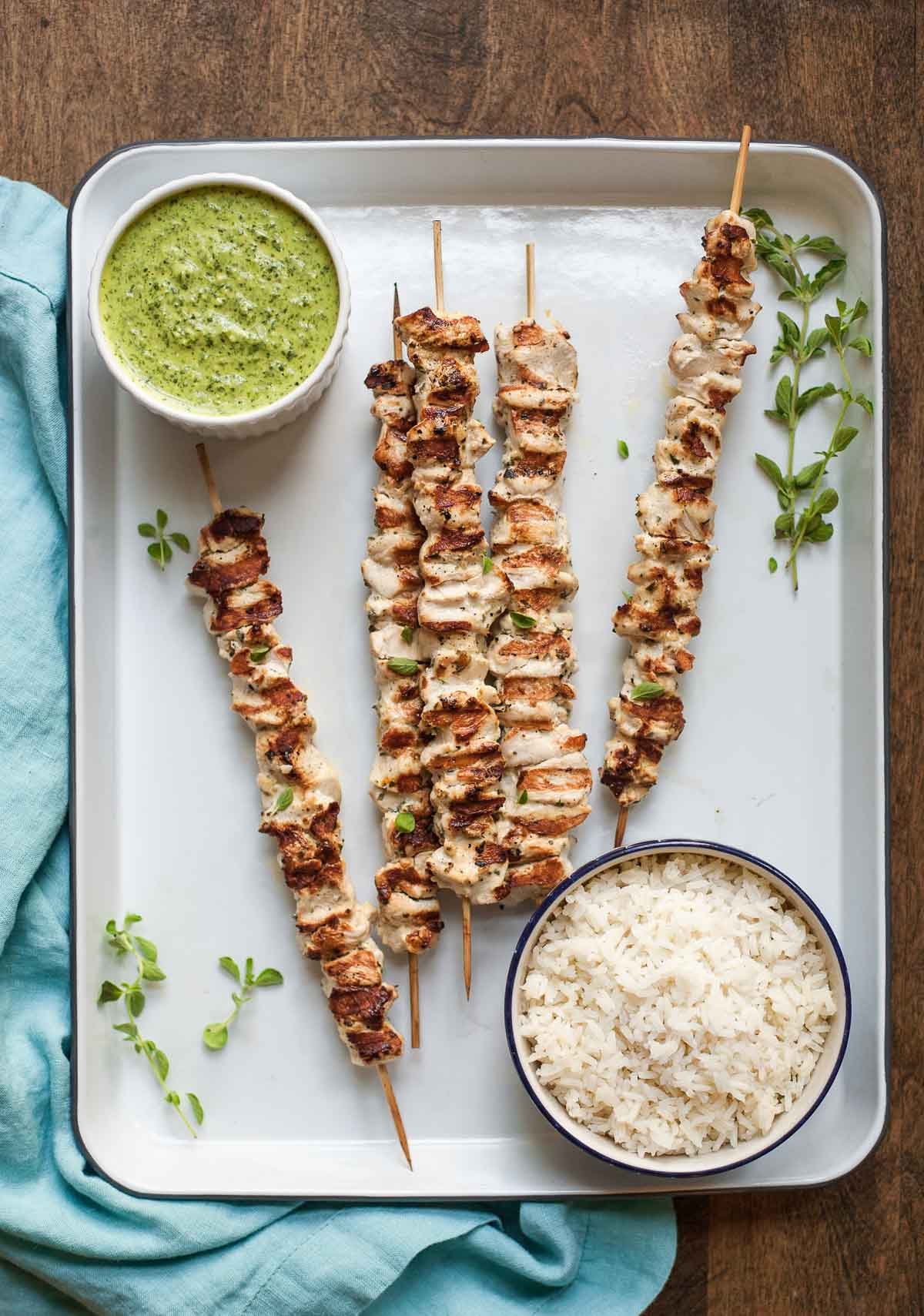 Pinchos de pollo from Latin American Paleo Cooking