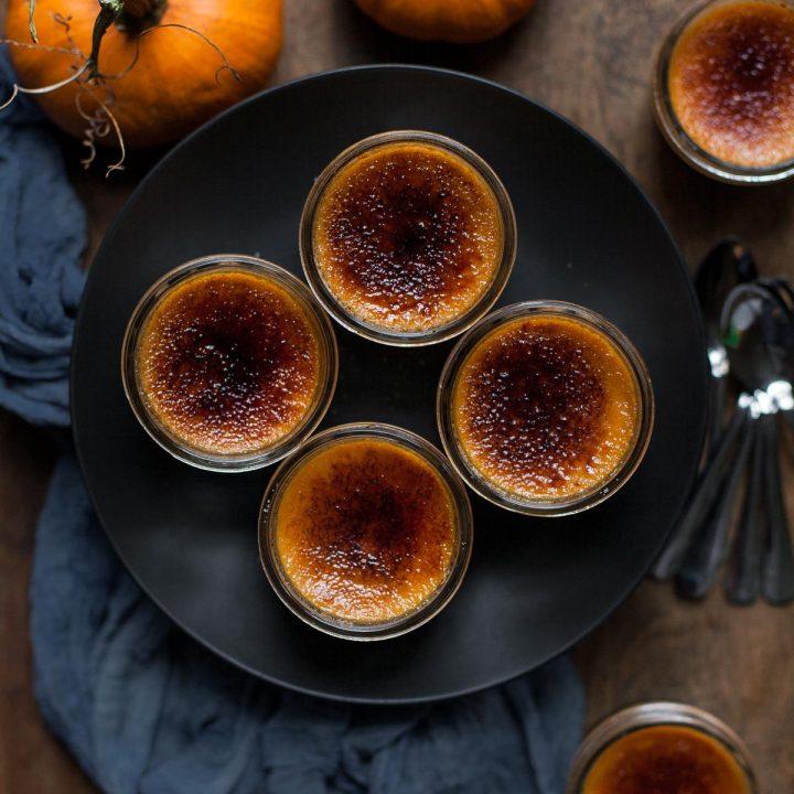 Chocolate Pumpkin Crème Brûlée