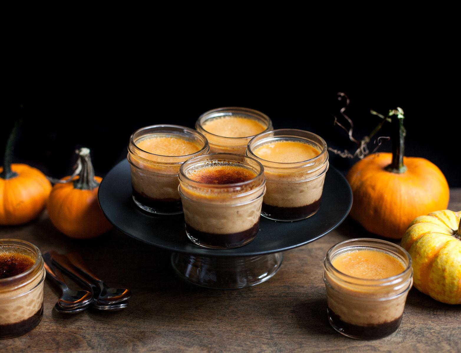 Chocolate Pumpkin Crème Brûlée (Grain free)