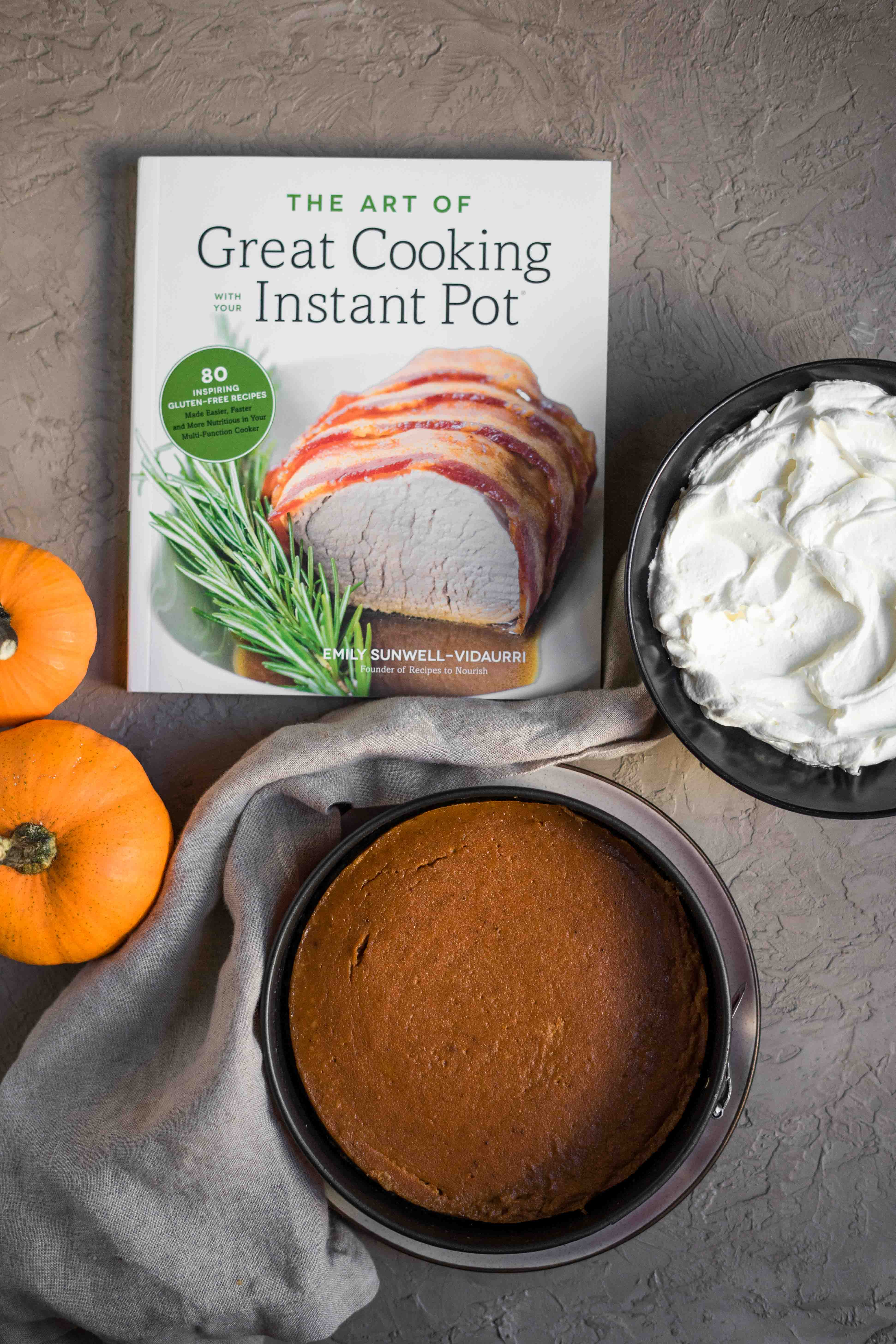 Grain-free Instant Pot Pumpkin Pie