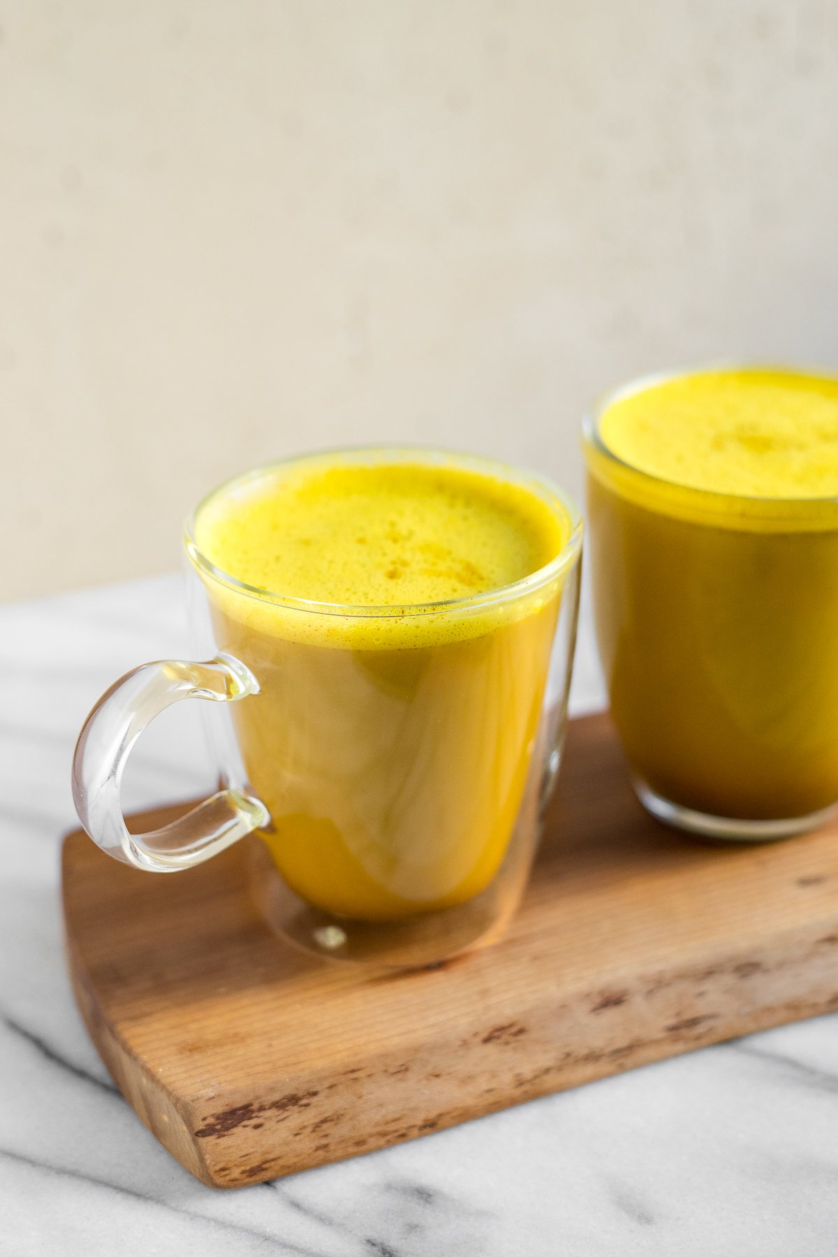 Golden Milk Ghee Latte (Paleo)