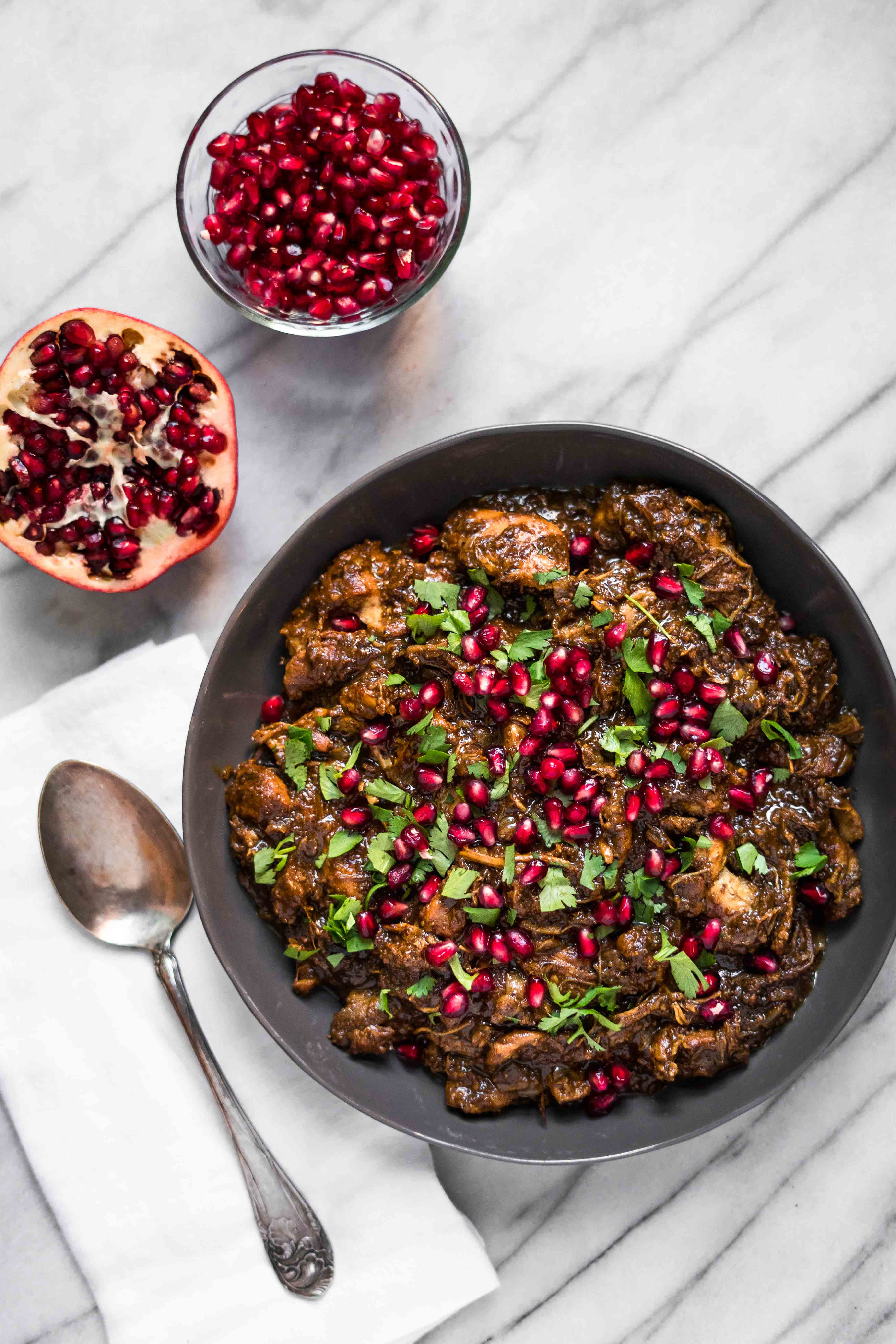 Instant Pot Fesenjan (Persian Pomegranate Chicken) - A ...