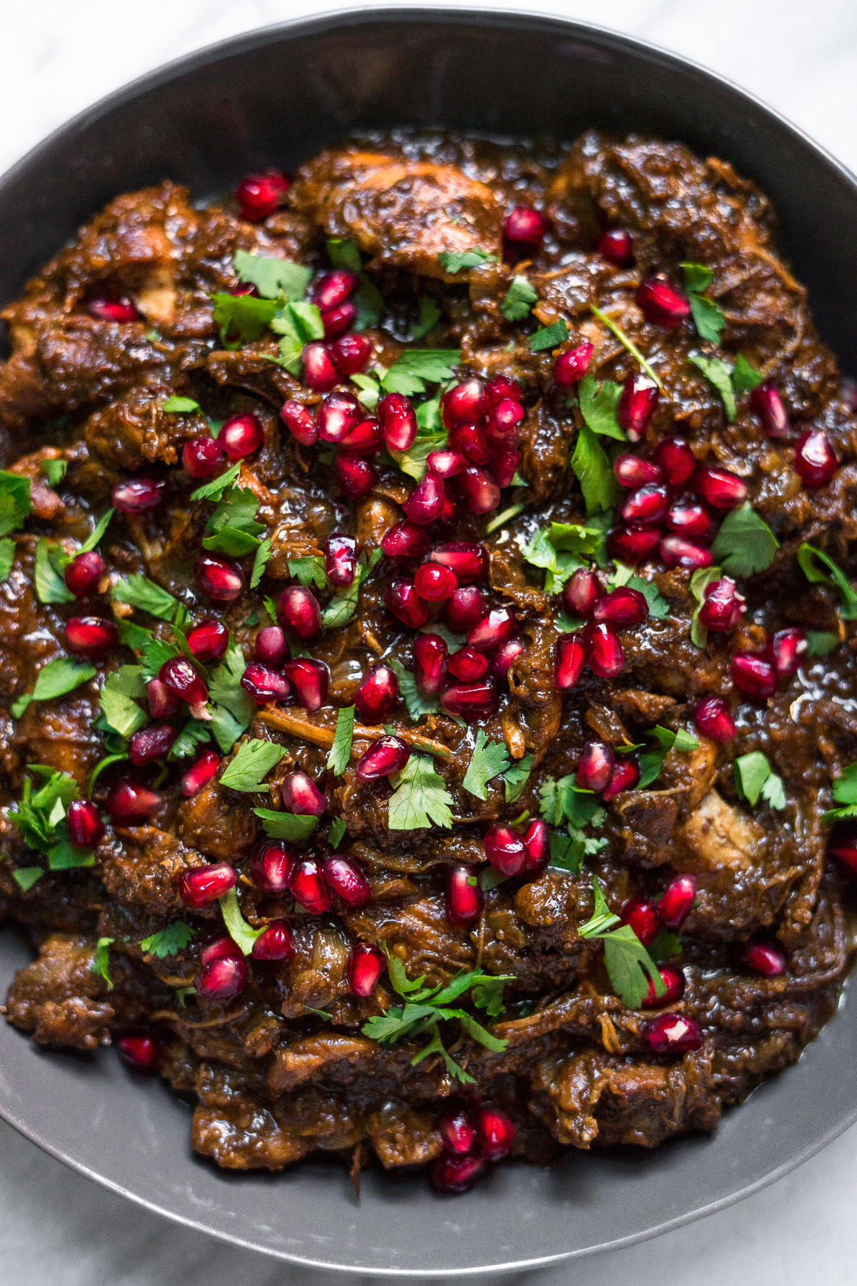 Instant Pot Fesenjan (Persian Pomegranate Chicken)
