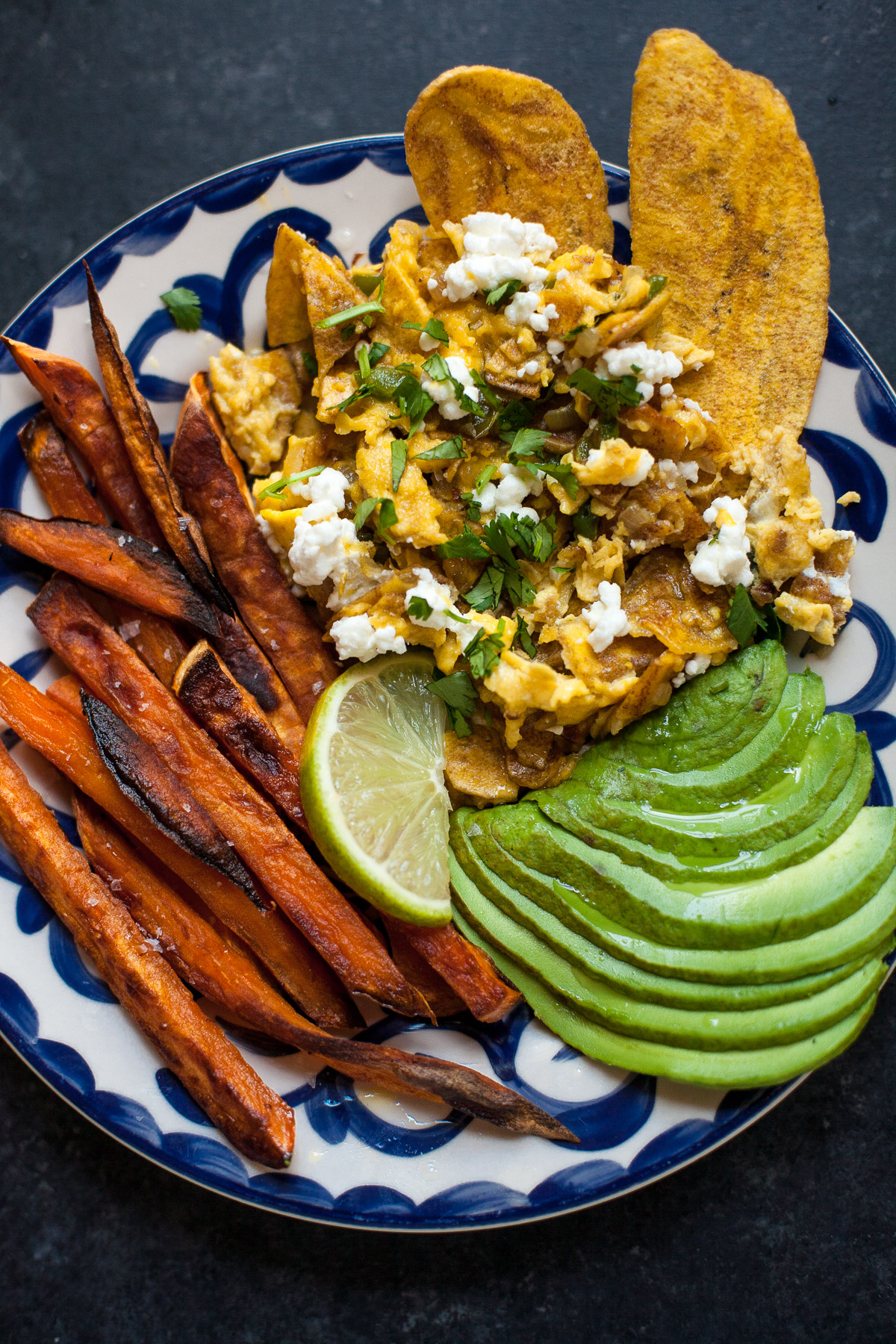 Plantain Chip Migas