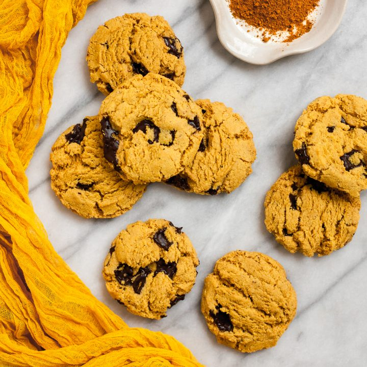 Brown Butter Turmeric Chocolate Chip Cookies