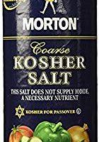 Morton Coarse Kosher Salt 16 oz. (Pack of 2)