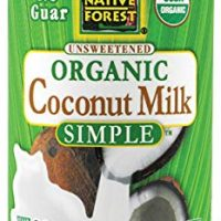 Native Forest Simple Organic Unsweetened Coconut Milk, 13.5 Fluid Ounce (Pack of 12)