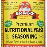 Bragg Nutritional Yeast Seasoning, Premium, 4.5 Ounce (2 Count)