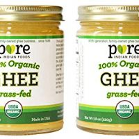Grassfed Organic Ghee 7.8 Oz - Pure Indian Foods Brand (2-Pack)