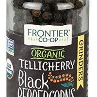Frontier Natural Products Peppercorns, Og, Black, Tlch, 1.76-Ounce (Pack of 3)