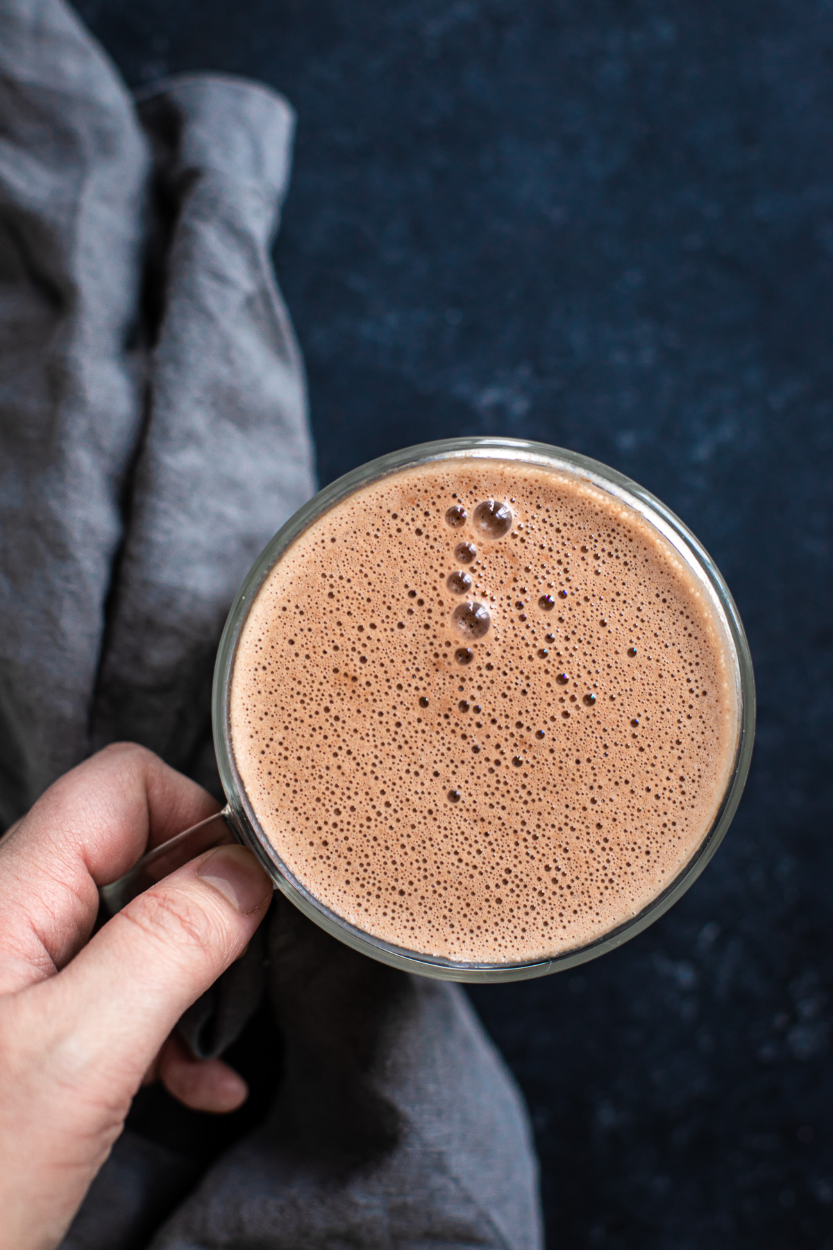 Cashew Hot Chocolate (Paleo, Dairy free & Vegan Versions)