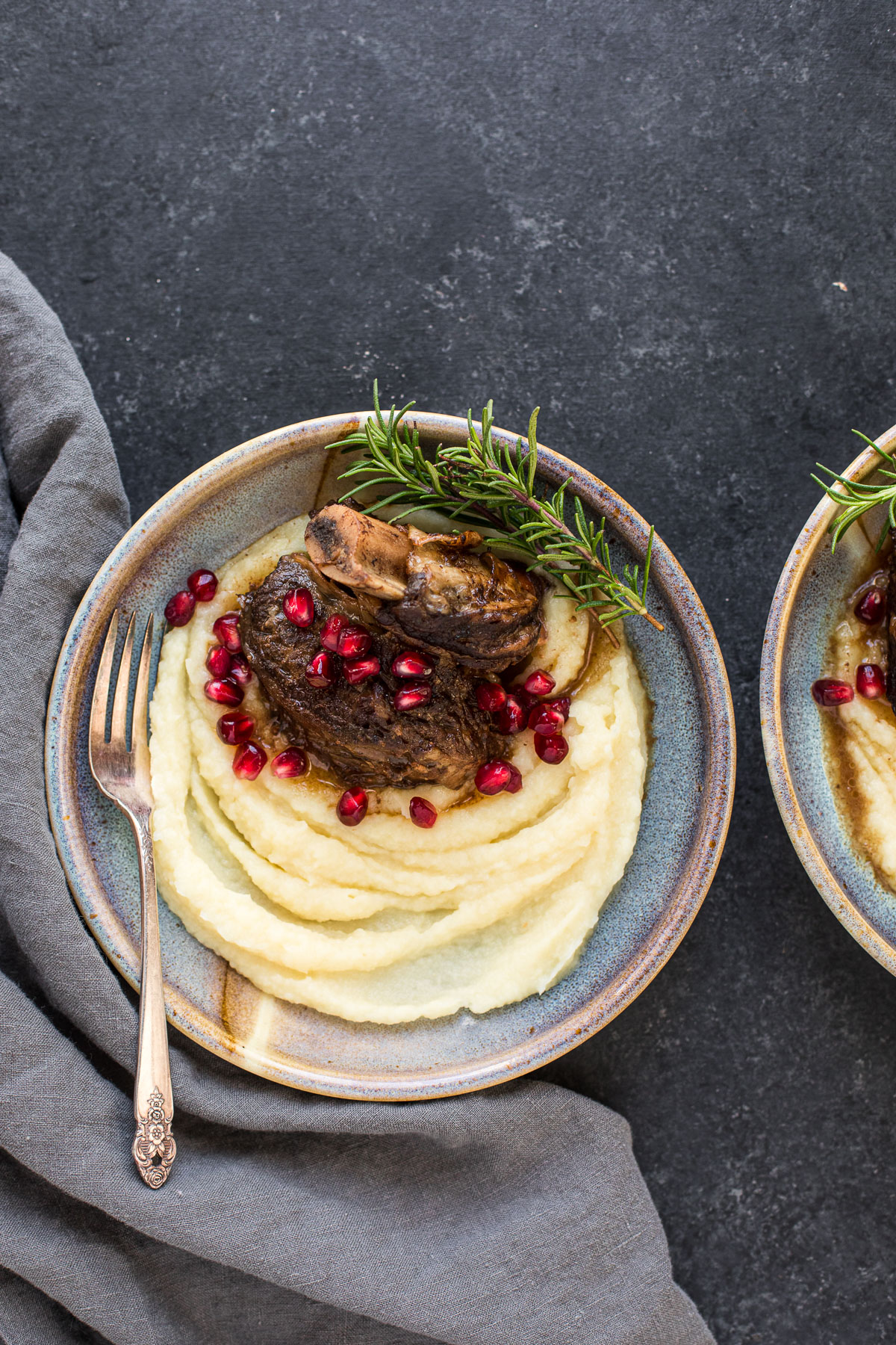 Instant Pot Balsamic Short Ribs with Parsnip Puree