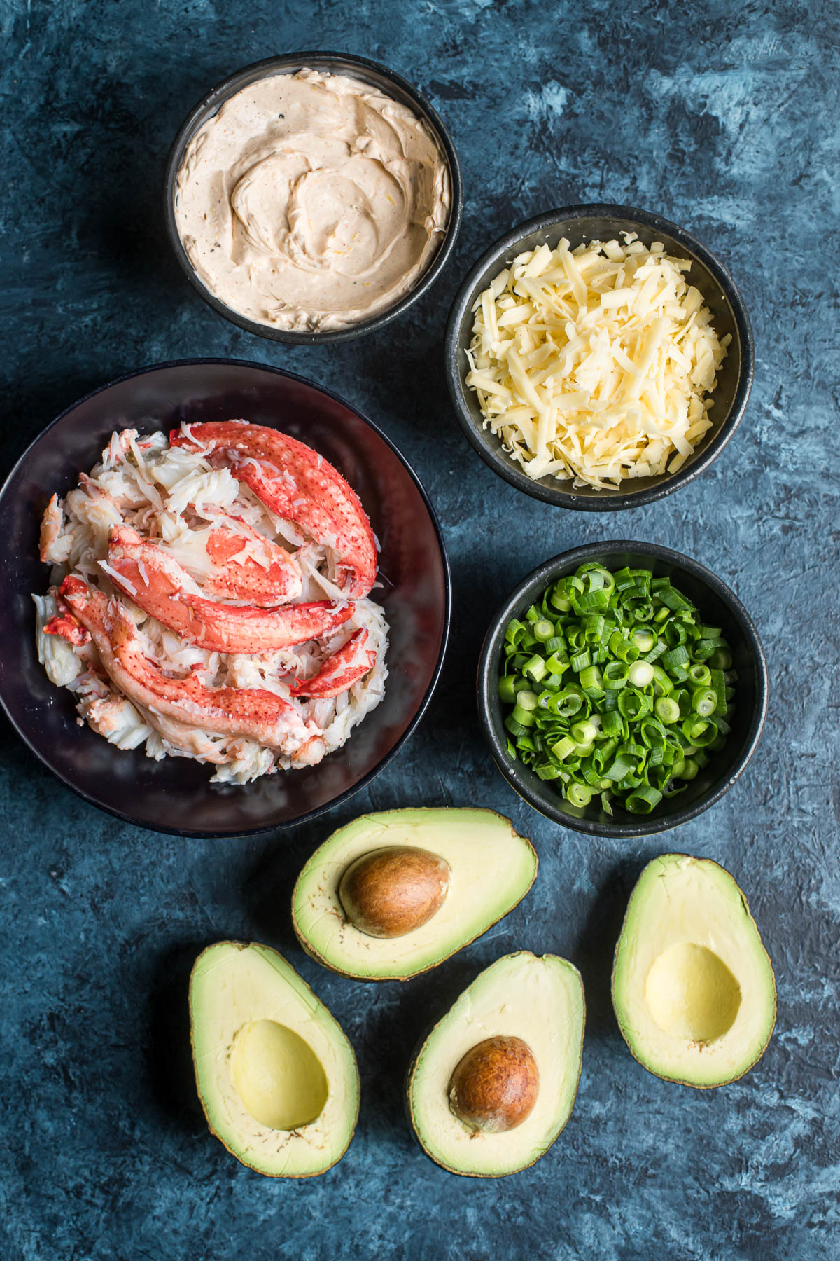 Stuffed Avocado with Alaska Crab (Low Carb, Keto Friendly)