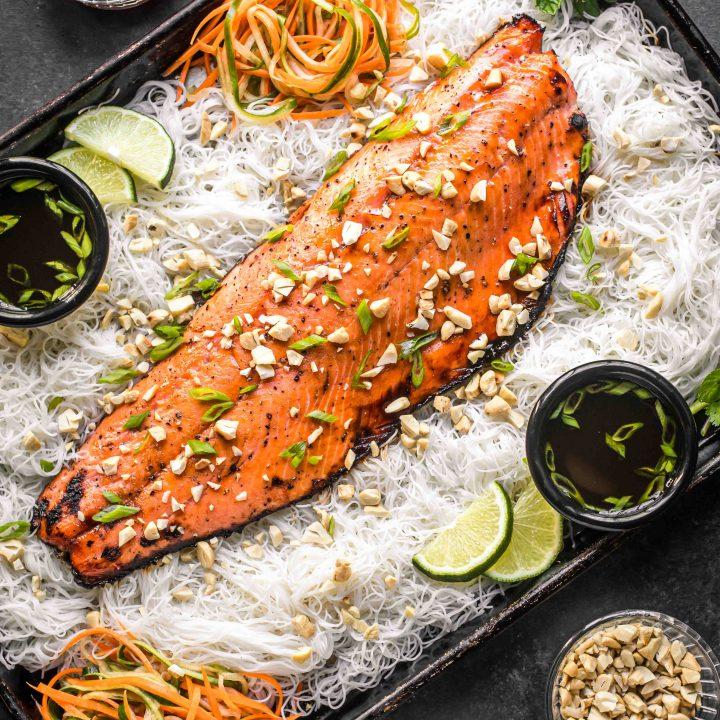 Vietnamese Caramelized Alaska Salmon