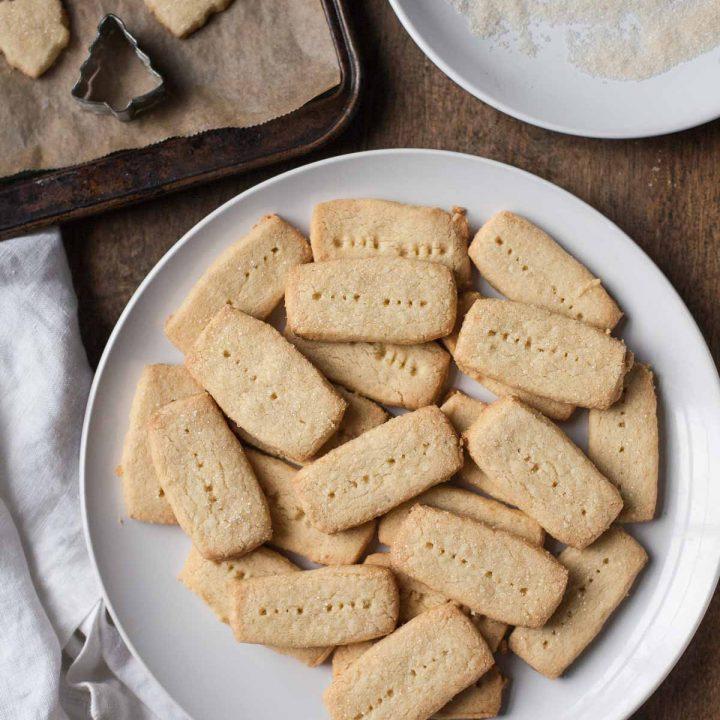 Grain-free Spiced Shortbread