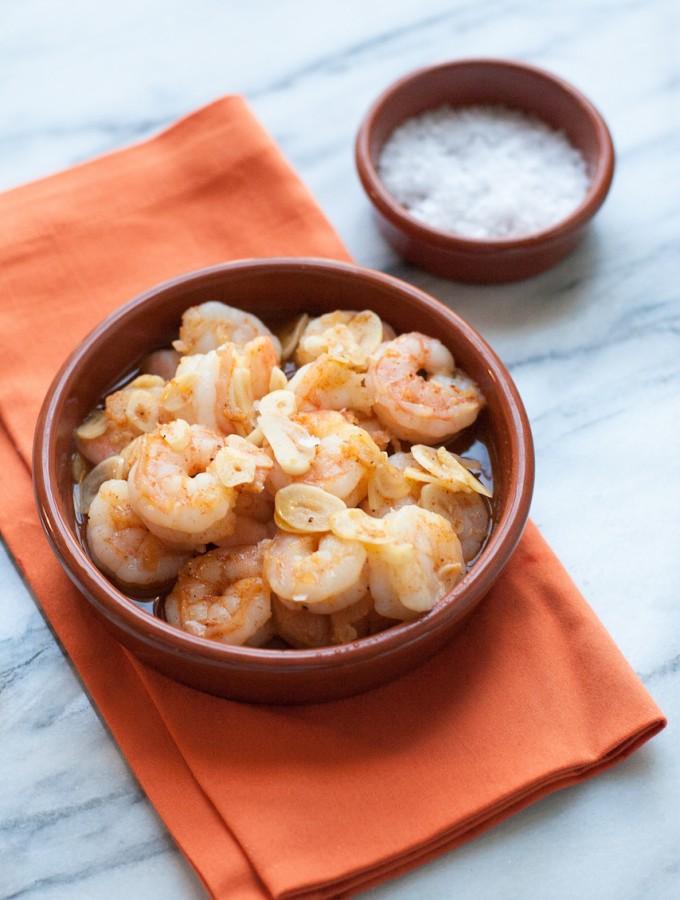Gambas al ajillo (Sizzling Garlic Shrimp) | acalculatedwhisk.com Gluten free, Paleo, Whole30