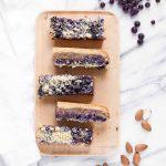 Blueberry Frangipane Pie Bars