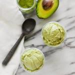 Matcha Avocado Ice Cream