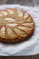 Apple Honey Upside-Down Cake