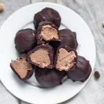Mocha Cream Paleo Truffles (Vegan)