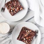 Easy Texas Sheet Cake (Gluten free, Grain free, Dairy free)